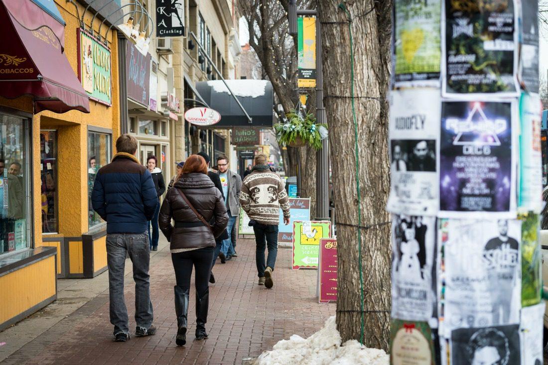 Whyte Avenue Edmonton alberta