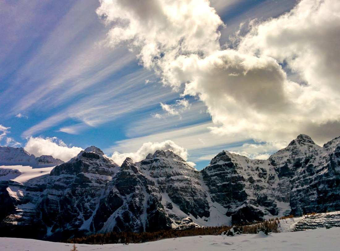 Sentinel pass alberta winter