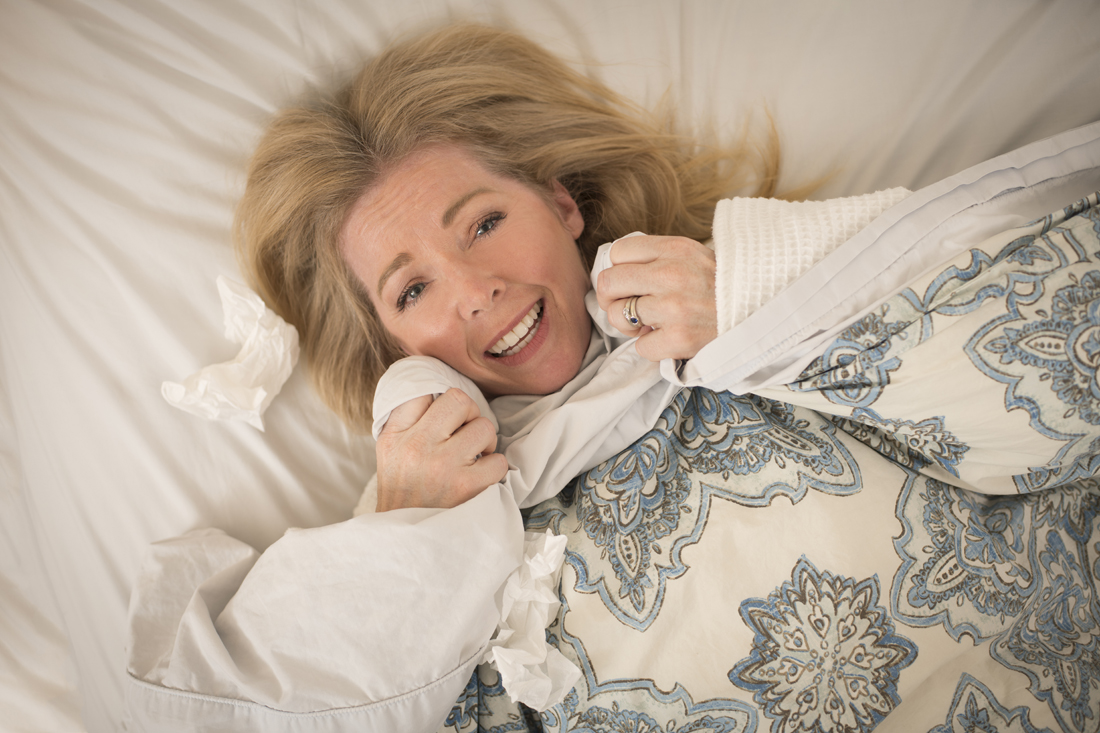 Here's what you need to do to comfortably survive a cold or the flu