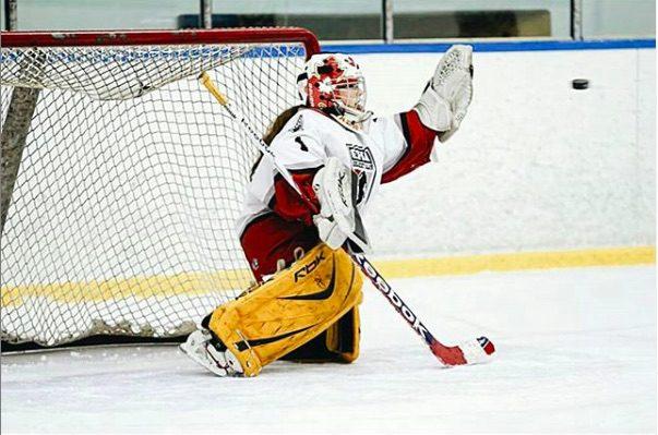 girls hockey game calgary