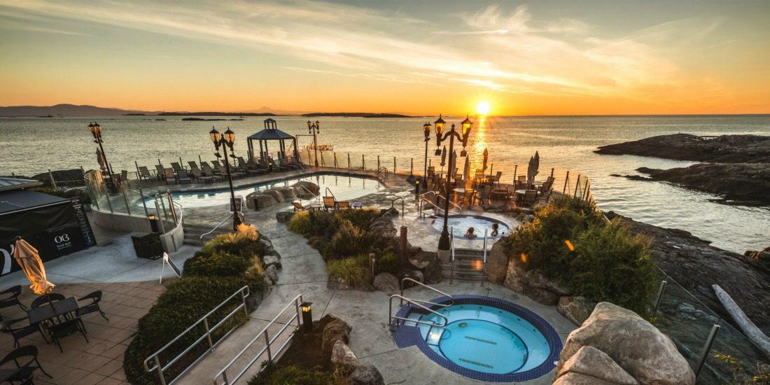 Oak bay beach hotel pools