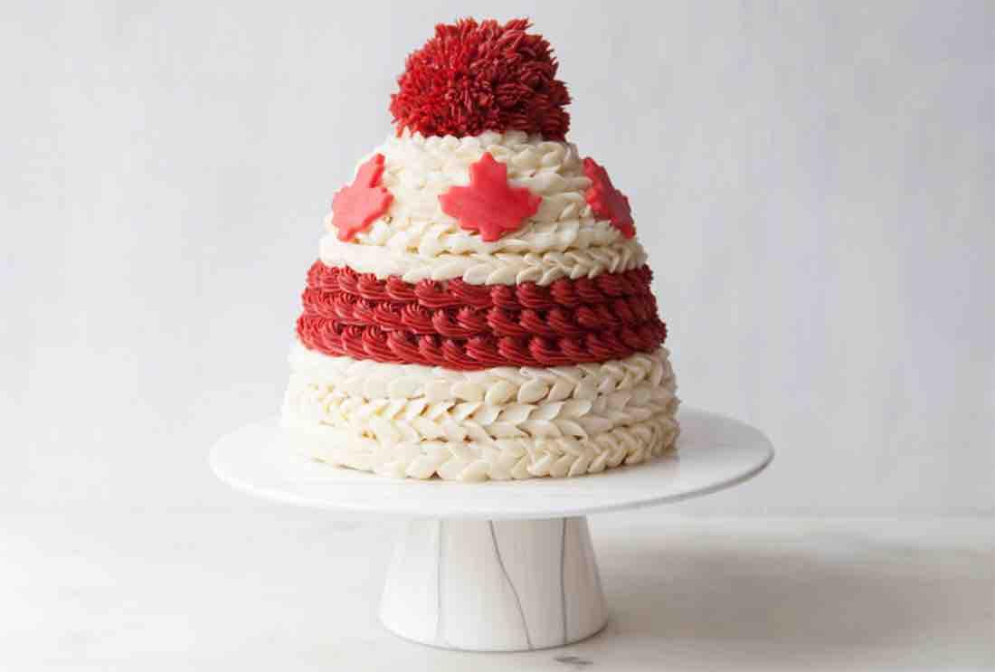 canadian toque cake