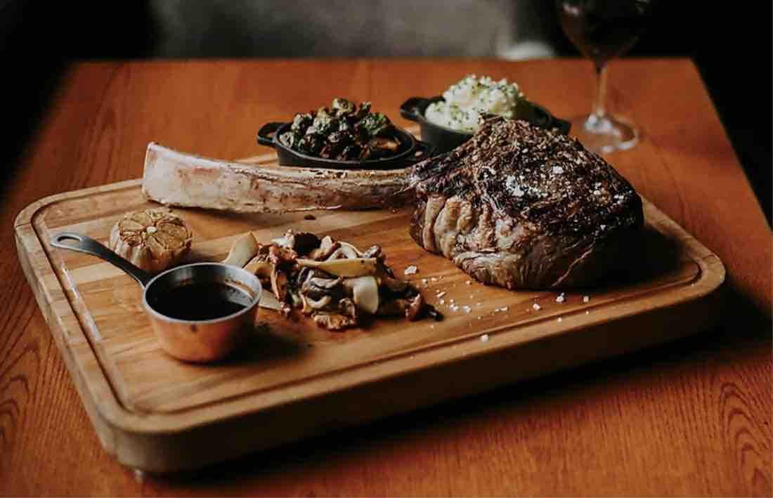 Banff steak restaurant