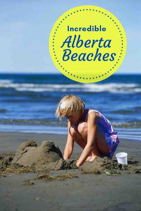 Beaches in Alberta