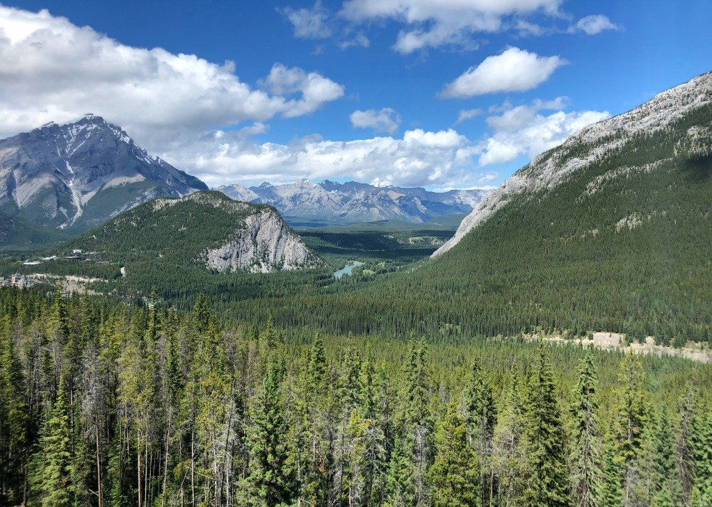 Views from Banff Rimrock Resort
