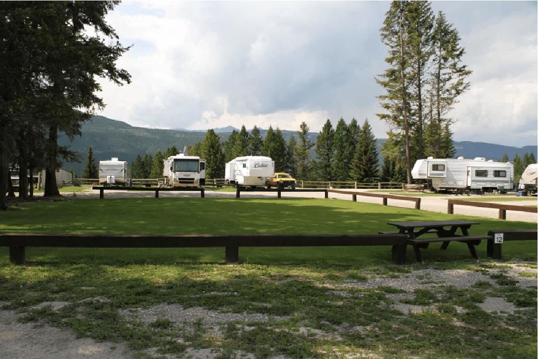 RV camping BC