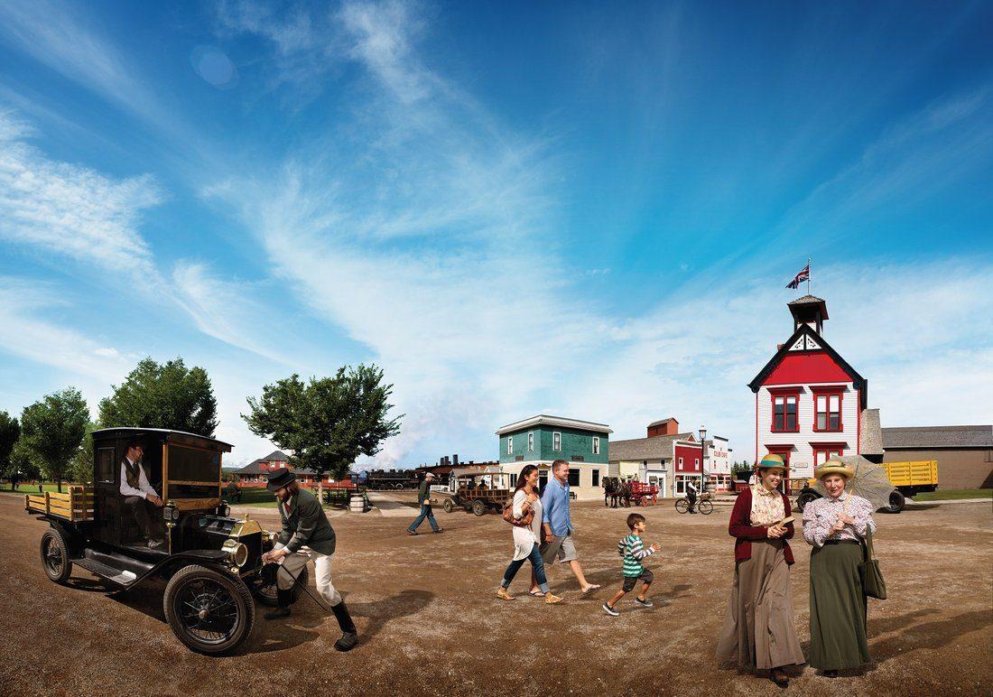 Historical village