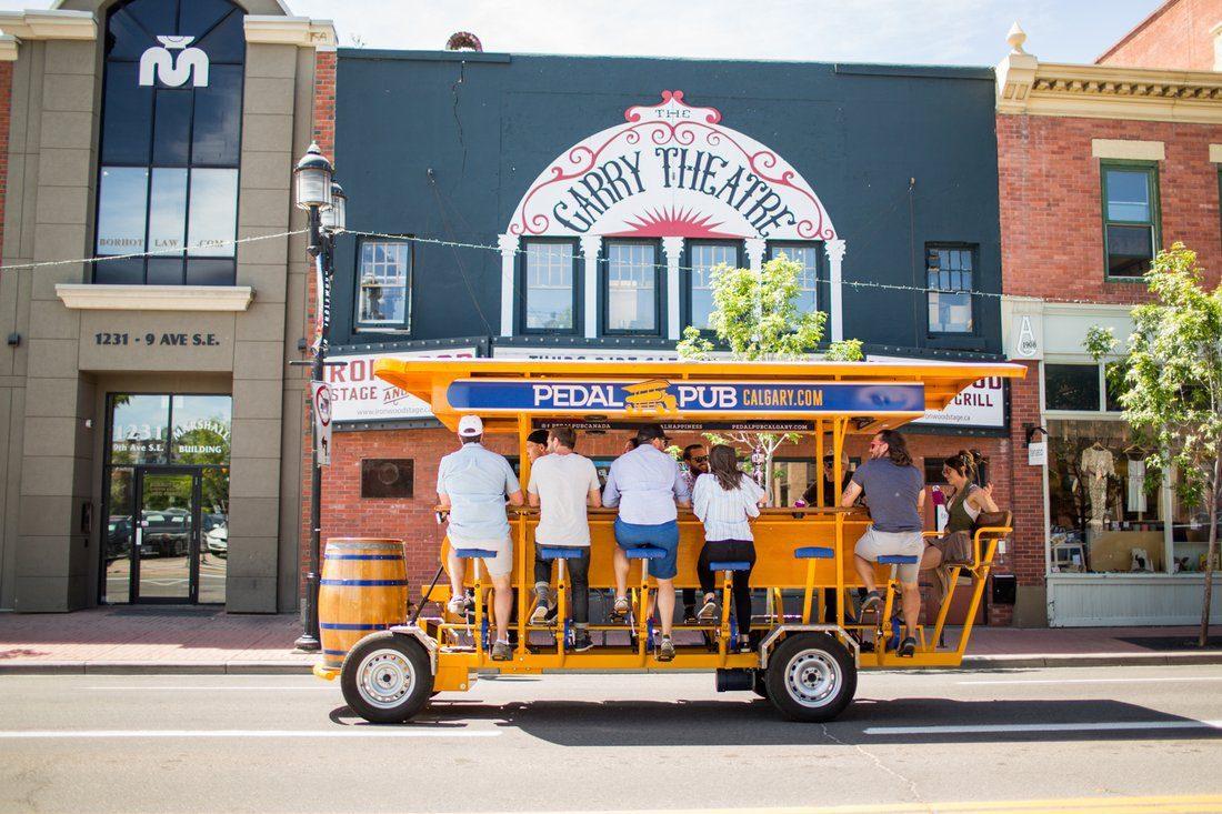 beer trolley
