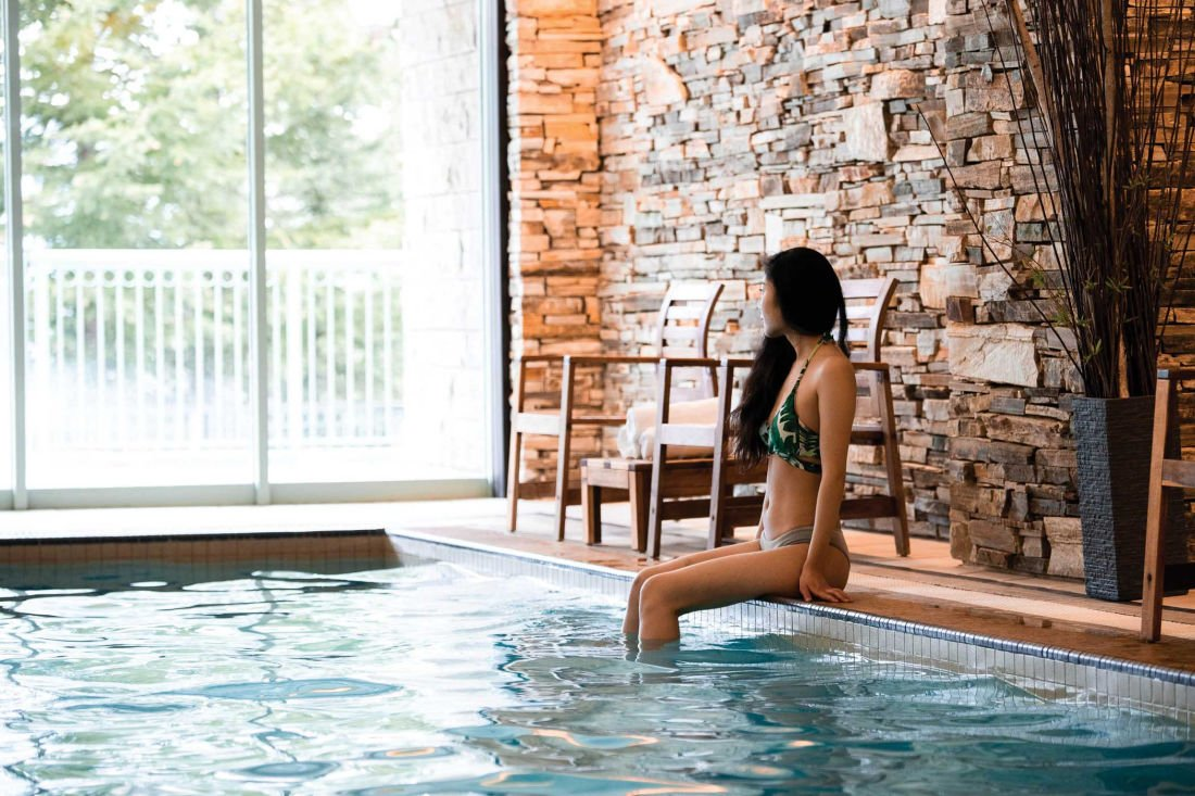 banff hotels with pool