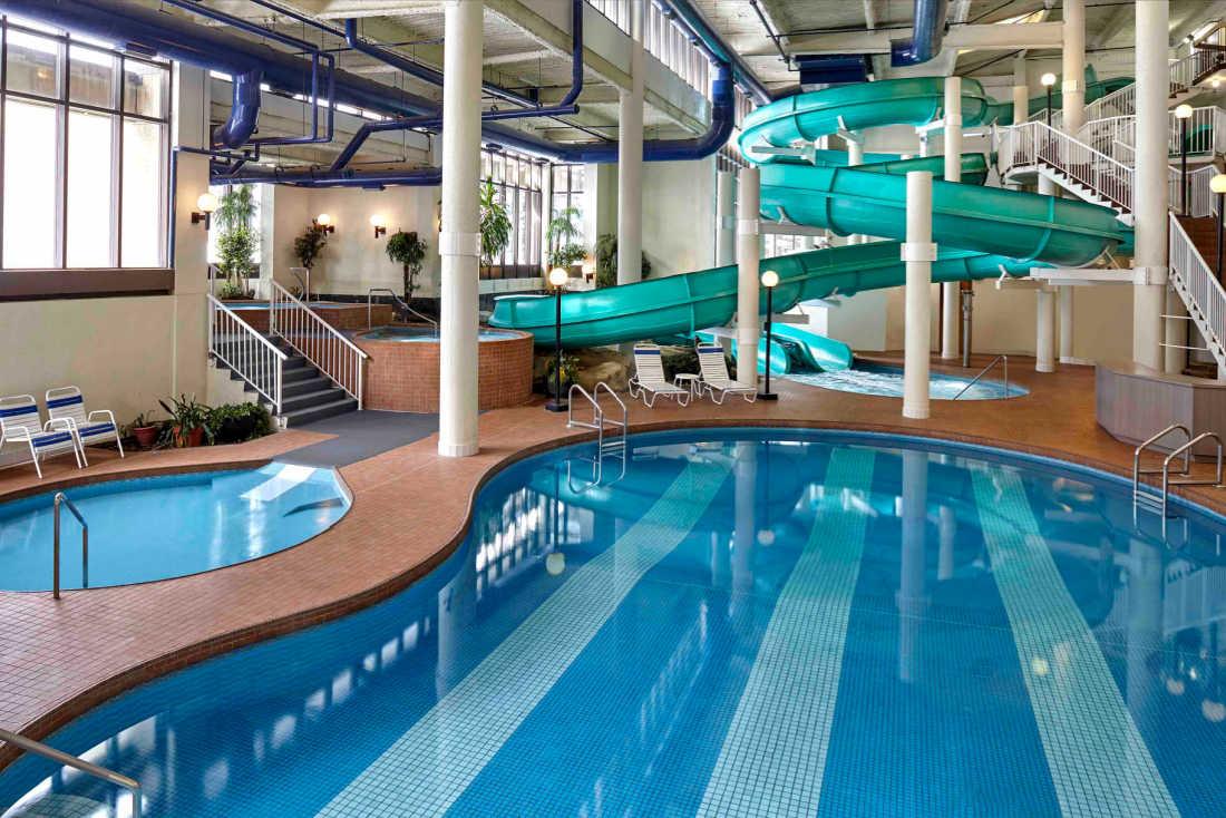 Oasis Water park Sheraton Cavalier Calgary