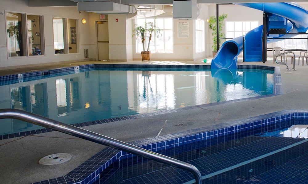 Airdrie hotel pool