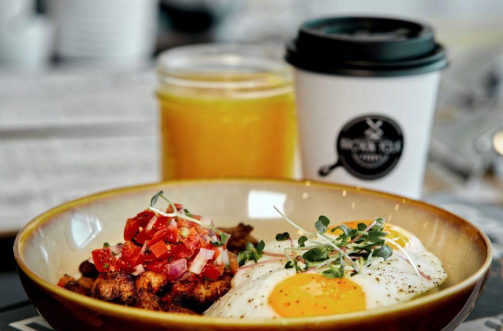 breakfast with OJ