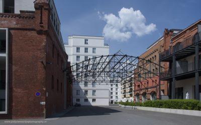 Wonen in Schultheiss brouwerij, Kreuzberg, Berlijn, Duitsland, 19-5-2016