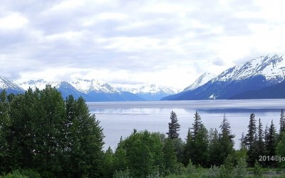 Alaska, uitzicht bij Turnagain Arm