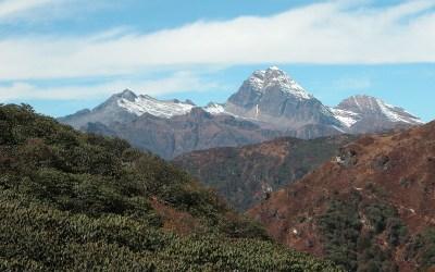 Bhutan, tijdens de trekking tussen Paro en Thimpu