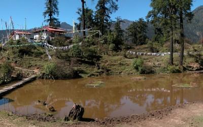 Tsokha Monastery, Dzongri Trek, Sikkim, India, 2009