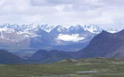 Alaska, near Maclaren Glacier