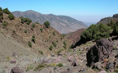 Onderweg tijdens Toubkal Trekking, Marokko, 2006