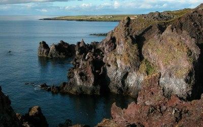 IJsland, kust bij Arnastapi