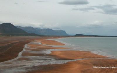 IJsland, kust in de buurt van Búdahraun