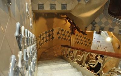 Barcelona, interieur van Casa Batlló