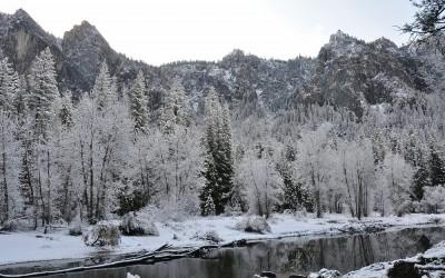 USA - Yosmite NP, Yosemite Valley and Merced River