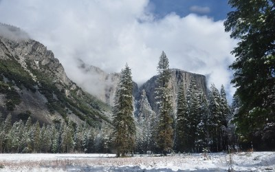 USA - Yosemite NP, Yosemite Valley and El Capitan