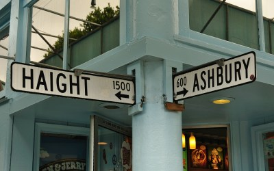 Haight and Ashbury Street, San Francisco, USA, 2011