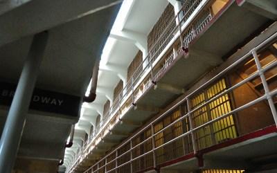 Meer celblokken, Alcatraz, San Francisco, USA, 2011