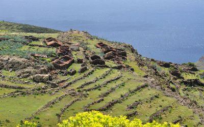La Gomera, Seima, onderweg van Degollada de Peraza naar San Sebastian