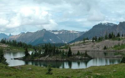 Sunshine Meadows, in de buurt van Banff, Canada, 2008