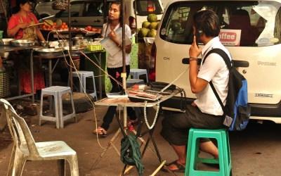 Myanmar, Yagon,