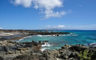 Start van de Hoapilli Trail, Maui, Hawaii, 2011