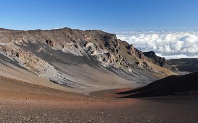 Dagwandeling vanaf de Haleakala