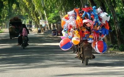 Myanmar, tussen Pyin Oo Lwin en Mandalay