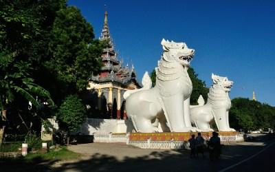 Myanmar, Mandalay, Sutaungpyi-Pagode