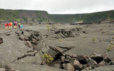 Kilauea Iki Krater, Vulcanoes NP, Big Island, Hawaii, 2011