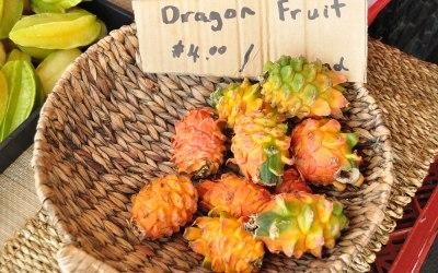 Tropisch fruit, Big Island, Hawaii, 2011