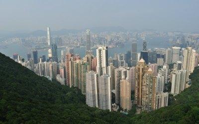 Hong Kong, uitzicht vanaf The Peak