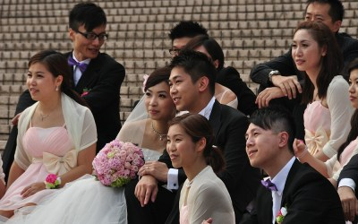 Hong Kong, Kowloon, bruiloft