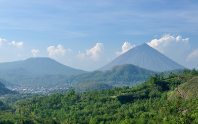 Gunung Inerie, Bajawa, Flores, Indonesië, 2012