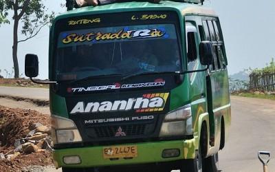 Vervoer, Flores, Indonesië, 2012