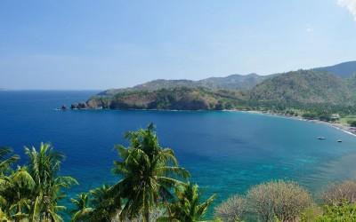 Langs de Westkust van Lombok, Indonesië, 2012