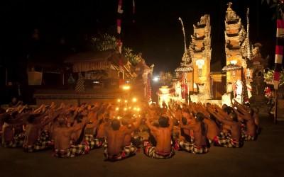 Tari Kecak, Ubud, Bali, Indonesië, 2012