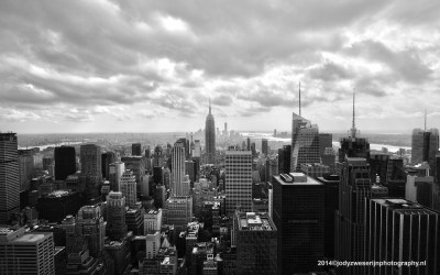 View from Chrysler Building, HDR, NYC, 20-9-2014