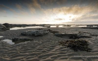 Strand van Audresselles, Opaalkust, Frankrijk, 3-5-2015