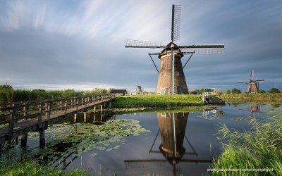 Kinderdijk, Molenkade, Nederwaard, 14-8-2015