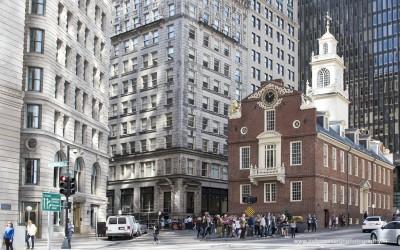 Old State House, Boston MA, USA, 27-9-2015