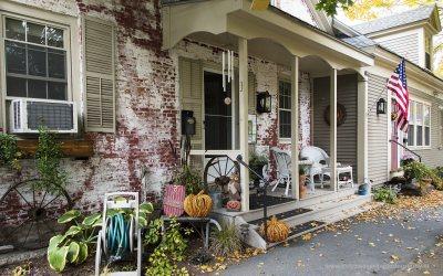 Huis in Woodstock VT, USA, 7-10-2015