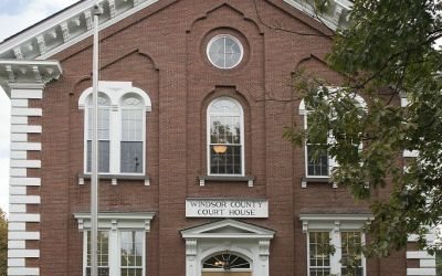 County Court House, Woodstock VT, USA, 7-10-2015